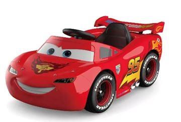 Imagen de Auto a batería Cars con control remoto Disney