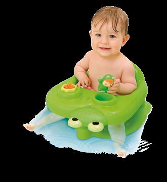 Imagen de Asiento para bañera con actividades Smoby.