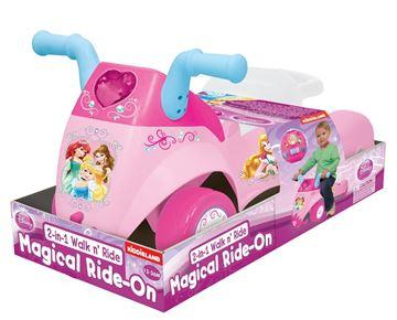 Imagen de Buggie 2 en 1 princesas Kiddieland