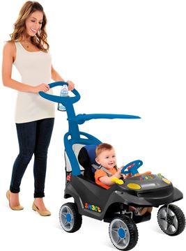 Imagen de Auto con guia Smart Baby confort bandeirante producto de saldo con detalles