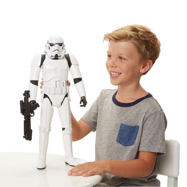 Imagen de Muñeco fig 50cm Stormtrooper Original Starwars.