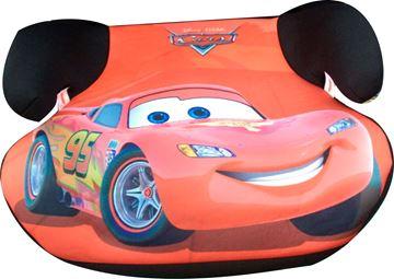 Imagen de Booster  Silla para auto sin respaldo Cars