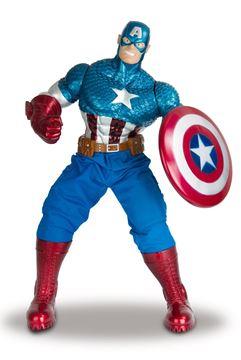 Imagen de Muñeco Capitan America Avengers Marvel 55cm