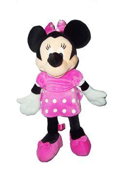 Imagen de Minnie 35cm peluche en mochila