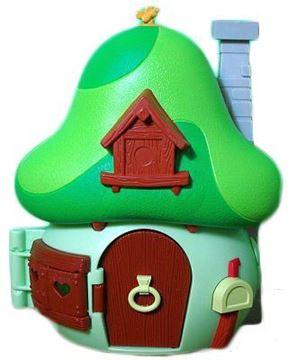 Imagen de Pitufos casa de lujo Pitufo Pintor