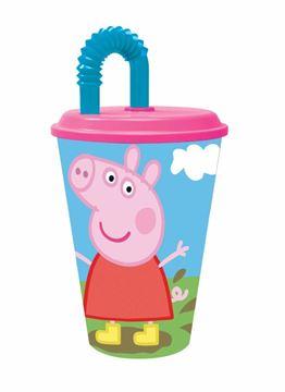Imagen de Vaso con tapa Peppa Pig Producto de saldo