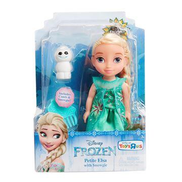 Imagen de Muñeca Frozen Elsa Fever Mini original Disney