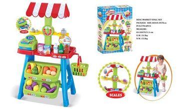 Imagen de Supermercado de alimentos, de juguete