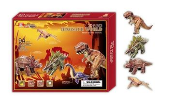 Imagen de Puzzle 3D Dinosaurios