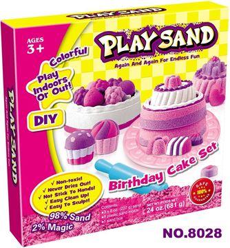 Imagen de Juego de masas arena moldes para tortas