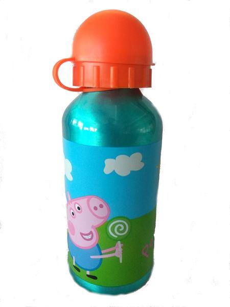 Imagen de Botella de aluminio 400Ml Peppa Pig