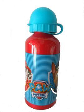 Imagen de Botella de aluminio 400Ml Patrulla Canina