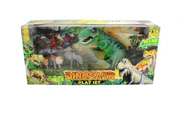 Imagen de Dinosaurio de juguete con luz