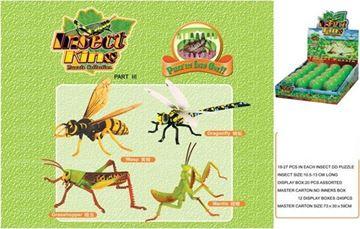 Imagen de Puzzle 3D Insectos