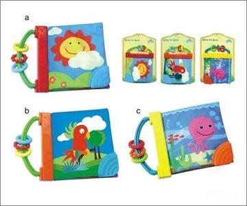 Imagen de Libros de tela de colores para bebes