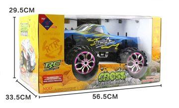Imagen de Camioneta Monster Cross Truck-man con luces