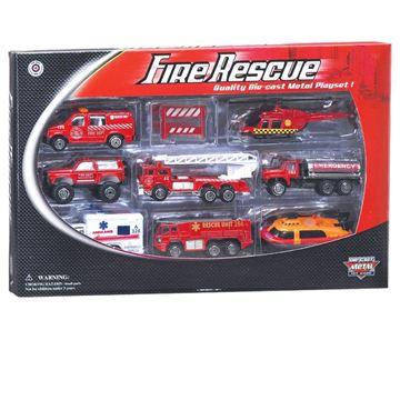 Imagen de Set de bomberos rescate