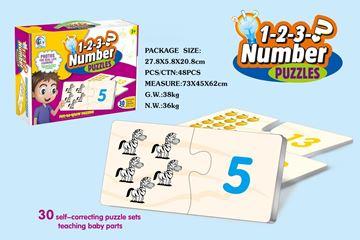 Imagen de Puzzle aprende los números