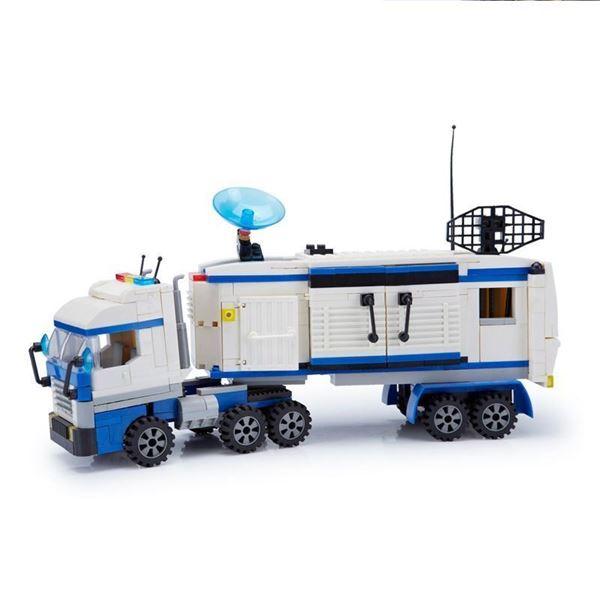 Imagen de Bloques camión de policía