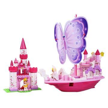 Imagen de Bloques castillo mariposa