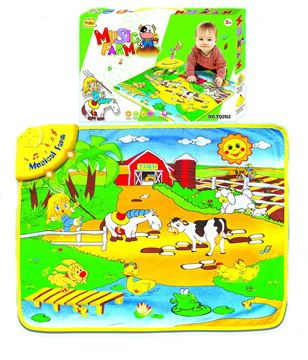 Imagen de Alfombra de juguete musical Animales