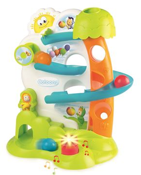 Imagen de Juguete de bebe Espiral para pelotas Cotoons