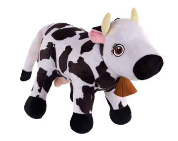 Imagen de Peluche musical La Vaca Lola Canciones de la Granja Zanon