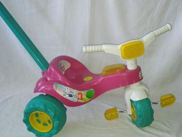 Imagen de Triciclo con guia rosado Magic Toys