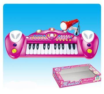 Imagen de Organo musical de juguete rosado