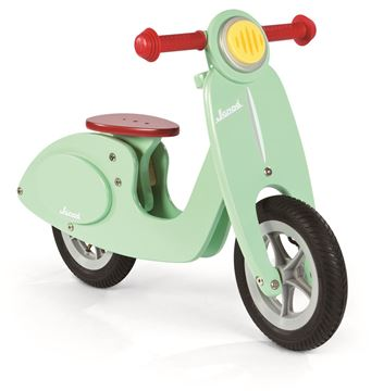 Imagen de Bicicleta de madera Janod Verde