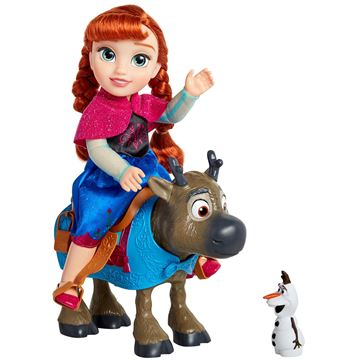 Imagen de Muñeca Frozen Anna con Sven Orignal Disney