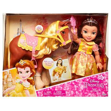 Imagen de Muñeca Bella con caballo Original Disney