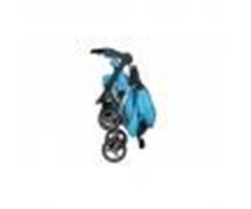 Imagen de Coche Travel System Pompeya Turquesa con Babysilla y Base