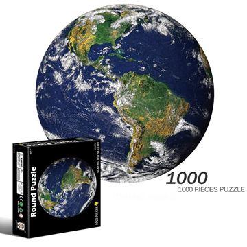 Imagen de Puzzle Rendodo Mundo 1000 pcs